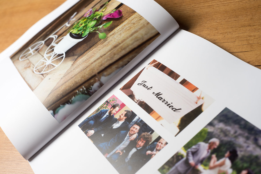 Álbum de fotos para boda en Cádiz