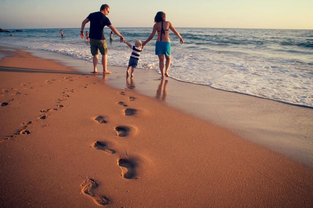 Sesión de Fotos de Familia en la Playa