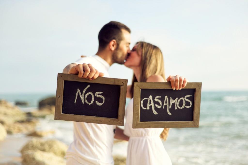 Preboda en Cádiz de Amanda y Sergio