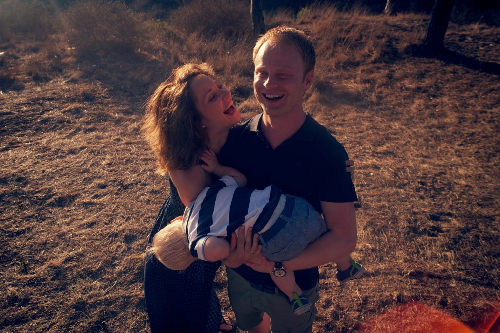 Reportajes de Fotos Familia con Niño