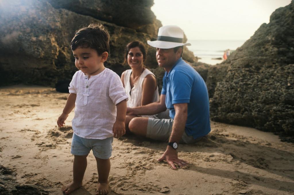 Reportajes de Fotos para Familias en la Playa