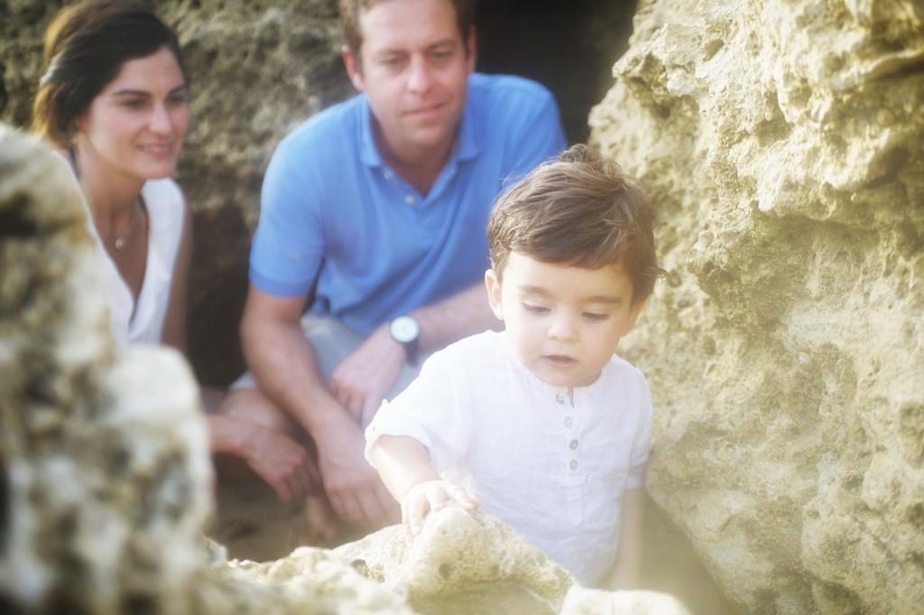 Reportajes de Fotos con Familias en la Playa
