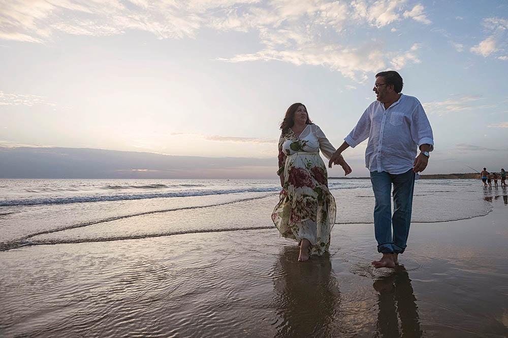 Fotografía Preboda en la Playa de Conil