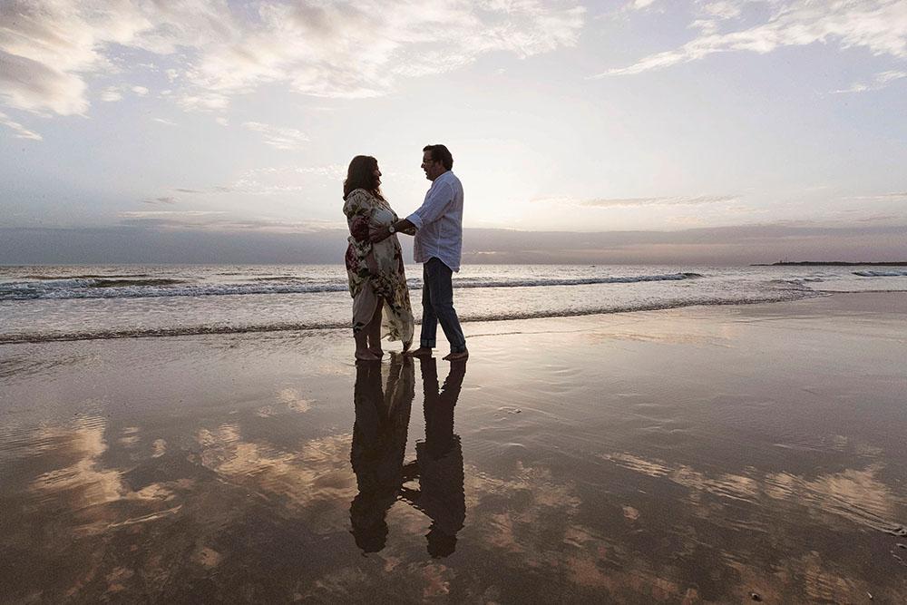 Fotos en la Playa de Paqui & Fernando